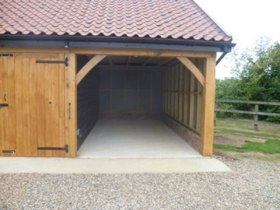 3 Bay Cart Lodge in Onehouse, nr Stowmarket